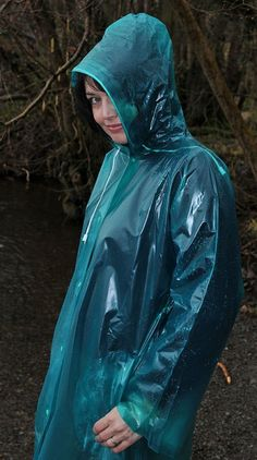 Green Raincoat, Pvc Raincoat, Plastic Raincoat, Imper Pvc, Transparent Raincoat, Plastic Mac, Hooded Cloak, Rain Suit, Bronze