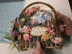 Mini Album Share - Garden Gate Kit from SaCrafters