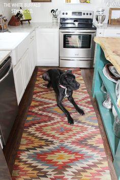 6 Kitchen Rugs | Kitchen Area Rugs, Stylish Kitchen And House Beautiful