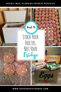 Freezer meals are such a great meal planning solution for busy moms! This girl only stocks her deep freezer 4 times a year and explains exactly how you can too in this series! Great read for freezer meal beginners! Freezable Meals, Make Ahead Freezer Meals, Crock Pot Freezer, Frugal Meals, Budget Meals, Freezer Recipes, Easy Dinners, Cheap Meals, Crockpot Meals