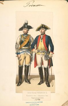 Index Frederick The Great, Seven Years' War, Hessian, New York Public Library, Troops, 18th Century, Germany, Prussia, Soldiers