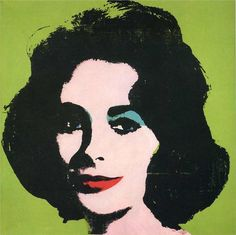 Liz Taylor 1964 - Andy Warhol - WikiPaintings.org