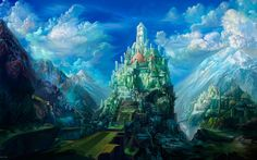 Digital Arts : Digital Matte Paintings and Fantasy Scene Digital Art   1280*800 NO.7 Wallpaper