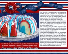firecracker red white and blue cake patriotic american 4th of july july 4 july 4th fourth of july july 4th food ideas flag cake fourth of july food ideas