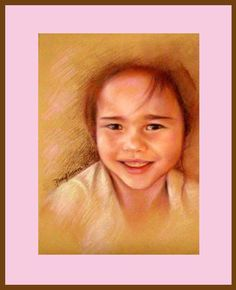 """Keri"" 2006  Pastel on Paper  Art by: PinkyFLizares"