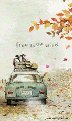 Being free as the wind - Karmann Ghia