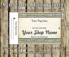 Printed Custom Craft Vintage Style Hang by GraphicalSolutions