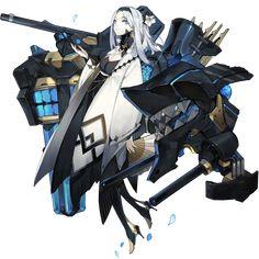 Character Design Girl, Character Design References, Anime Girl Drawings, Cool Drawings, Comic Book Maker, Android Art, Art Eras, Sengoku Basara, Robot Concept Art