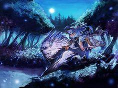 Veil of the Moon - Mirana by MugenMcFugen.deviantart.com on @DeviantArt