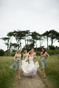 Love this pic!  A Jim Hjelm Pocket Wedding Dress for a Rustic Country Wedding, Photos by Green Photographic