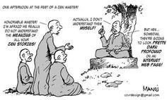 The Wisdom of Zen by Manoj Vijayan #fridayfunny #humour #inyourownwords