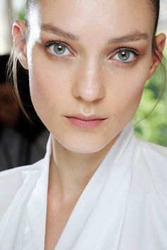 Glowing skin at the Fall/Winter 2012-13 Valentino Haute Couture Show.