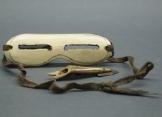 Inuit Ivory Snow Goggles.