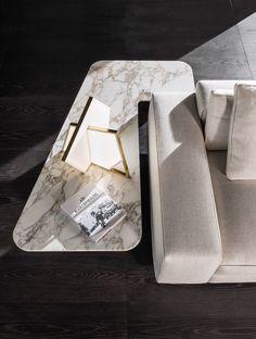 Song coffee table, Rodolfo Dordoni design. #minotti #furniture #song #coffeetable #2017collection #madeinitaly #homedecor #interiordesign