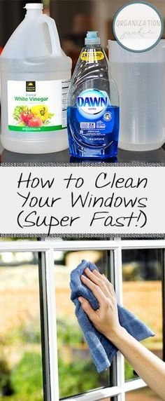 How to Clean Your Windows (Super Fast!)