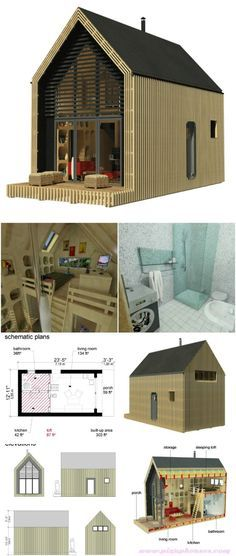 Container House - Alice tiny house plans - Who Else Wants Simple Step-By-Step Plans To Design And Build A Container Home From Scratch? Building A Container Home, Building A Tiny House, Small House Plans, House Floor Plans, Micro House Plans, Build House, Modern Tiny House, Tiny House Living, Tiny House Design