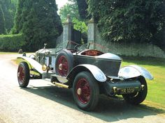 1924 Rolls-Royce Dual-Cowl Boattail Touring Car Body by Labourdette of Paris Grey