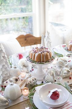 ella claire inspired | christmas tablescape