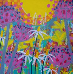 Sunny Day by Claire West  at claire-west.com  available at Itch Gallery, Oakham
