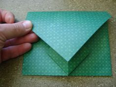 origami envelopes... lovely!