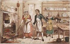 'One can never have enough saucepans' – the duties of an century cook (All Things Georgian) Regency Color, Regency Era, Georgian Era, Historical Romance, Working Woman, Women In History, Blacksmithing, 18th Century, Saucepans