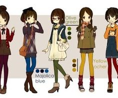 170 best anime fashion images on pinterest drawing ideas
