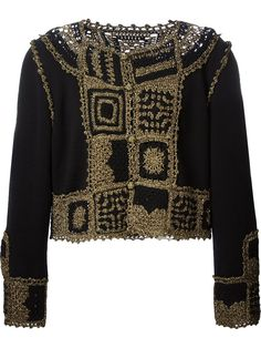Moschino Vintage Crochet Cardigan - House Of Liza - Farfetch.com