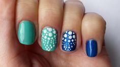 Summer easy dots nail art by KaroNails