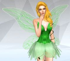 Fairy Dress at SilverMoon Sims