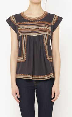 Isabel Marant Étoile this is gorgeous :) Boho Fashion, Fashion Looks, Womens Fashion, Pretty Outfits, Cute Outfits, Sunday Clothes, Vogue, Get Dressed, Bohemian Style