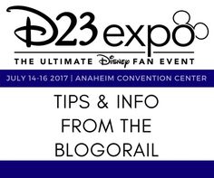 Heading to the D23 Expo? We have you covered with the information and tips you need to have an amazing experience at the ultimate Disney fan event.