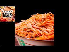 Peanut Noodle Pasta Salad   Proper Tasty - YouTube (use spaghetti ...
