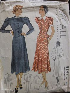 Vintage Sewing Pattern | McCall 8841 | Flickr - Photo Sharing!