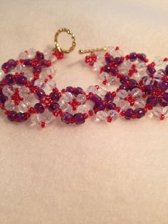 For The Red Hat Ladies by Grannynkids on Etsy, $15.00