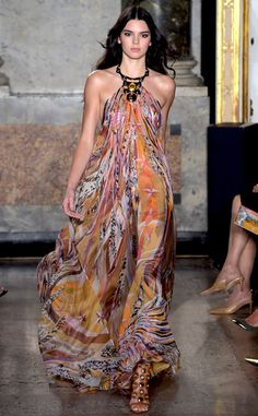Pucci Spring 2015 from Kendall Jenner's Runway Shows