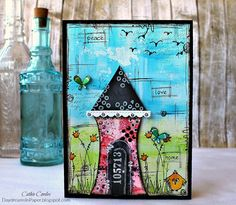 Home Sweet Home by CathieC - Cards and Paper Crafts at Splitcoaststampers