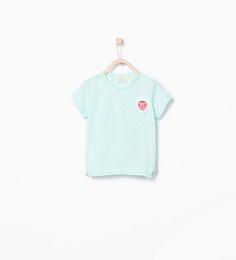 Fruit appliqué T-shirt