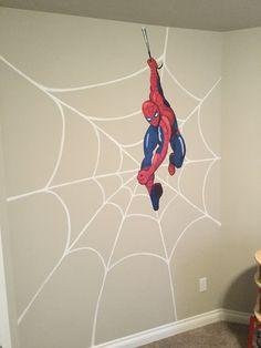 Spider Man Wall Mural Rene Gebhart Designs Art