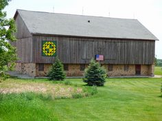 Barn Quilts, Shawano County, Wisconsin