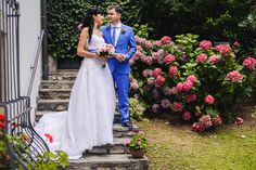 wedding hairstyle in Como lake