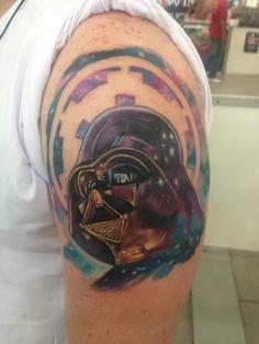 Star Wars Tattoo / Darth Vader Tattoo by Josh Bodwell.