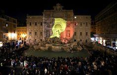 PHOTOS. Dubaï, Paris, Berlin... L'hommage des grandes villes à Bruxelles après les attentats