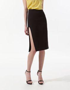 Esta falda de Zara es muy atrevida...