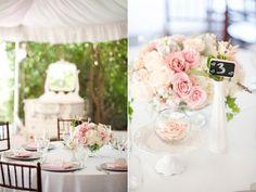 Decoração de casamento & Rosa | Casarei