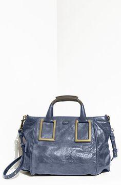 Chloé 'Ethel' Lambskin & Goatskin Leather Top Handle Satchel