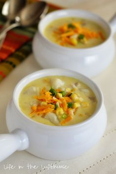 Chicken Corn Chowder | Life In The Lofthouse