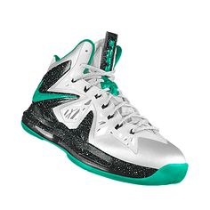 NIKEiD. Custom LeBron X+ P.S. Elite iD Basketball Shoe