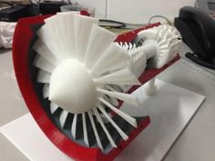 3ders.org - Jet Engine made on a 3D Printer | 3D Printer News & 3D Printing News