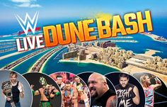 Enjoy the big #event #WWE #live #dune #bash in #Dubai #UAE on 14th to 15th April 2017.