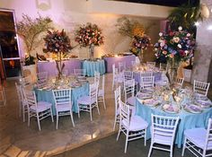 wedding pic tiffany blue round tables - Google Search